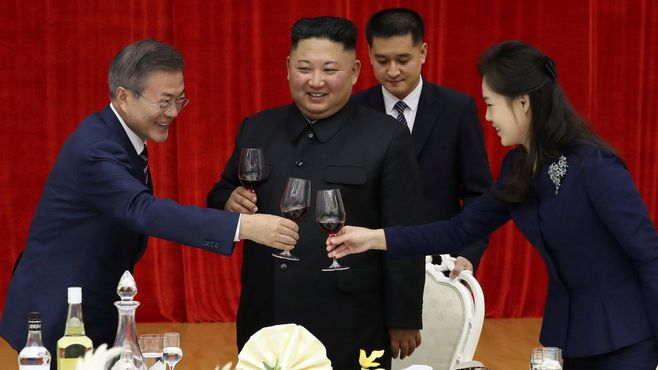 非核化よりも南北関係改善に進む韓国の事情