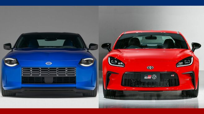 フェアレディZ/GR86、新型スポーツカー徹底比較