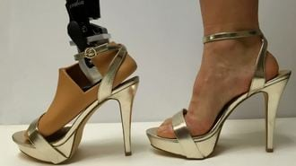 Students Build Adjustable Prosthetic Foot for High Heels