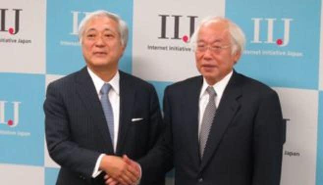 前財務事務次官の勝氏、IIJ社長に
