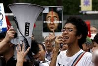Huge Protest in Tokyo Rails Against Abe's Security Bills