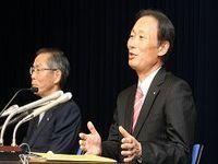 日本郵船が社長交代、新社長は工藤泰三副社長、宮原社長は会長、草刈会長は相談役に