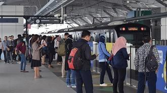 ジャカルタ地下鉄開業、薄い「日本」の存在感