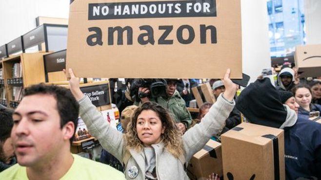 アマゾン「NY本社」建設断念に追い込まれた理由