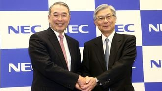 NECがトップ交代、託された重いバトン