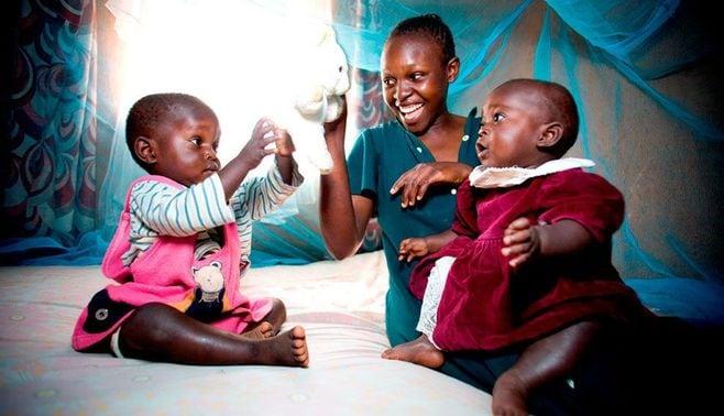 「蚊帳」で子供の命を救う!日本企業の執念
