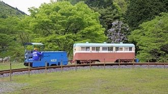 1円で乗れる「一円電車」に託す鉱山の街再生