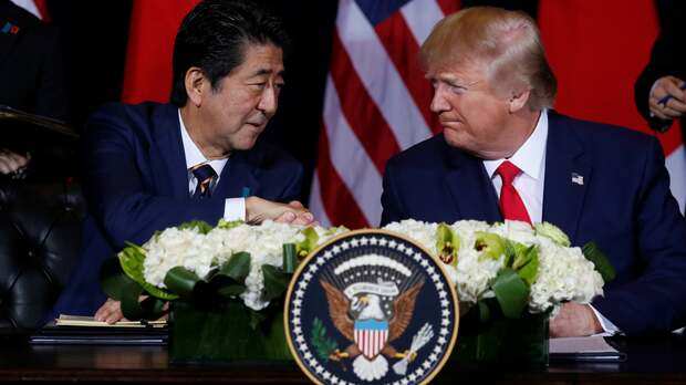 Did Abe Just Join The Trump Re-Election Campaign?