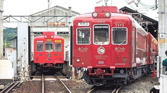 駅長「たま」、うめ星電車…和歌山電鐵の10年