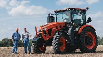 クボタ「巨大トラクター」で狙う欧米市場の攻略