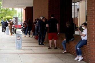 米新規失業保険申請78.7万件、なお高止まり