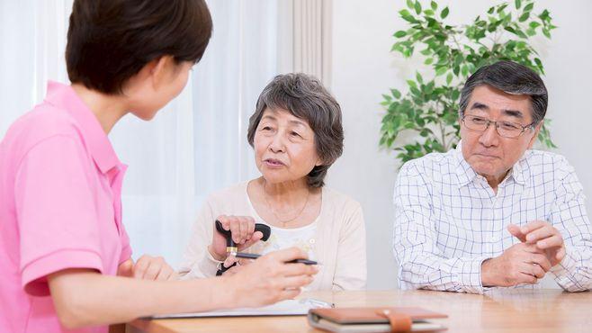 自宅で介護を希望する人は7割超という現実