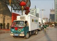 ヤマトHLDの11年4~9月期の海外宅配便は上海が8倍増と計画上回る絶好調ぶり。海外実績の詳細を初めて公開