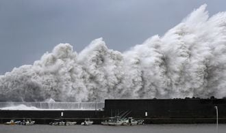 Japan issues evacuation advisories as typhoon Jebi approaches