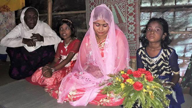 18歳「ロヒンギャ花嫁」と難民キャンプの今