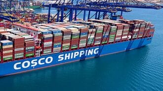 中国海運大手「コスコ」上半期の純利益爆増の背景
