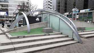 なぜ日本の駅前広場は「噴水だらけ」なのか