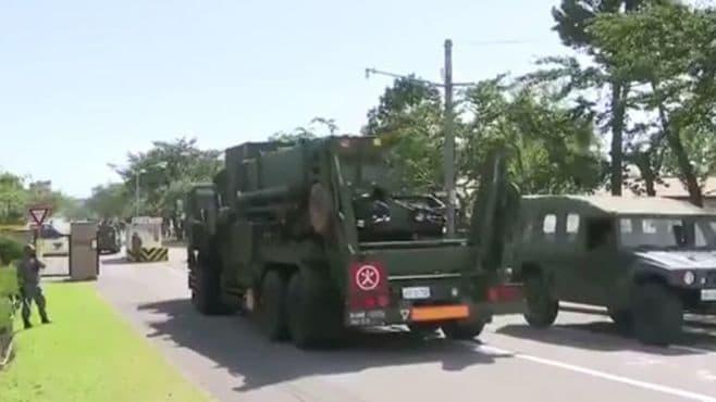 ミサイル「PAC3」函館に配備、迎撃態勢を強化