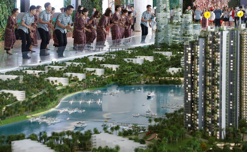 マレーシア、中国主導「海上都市計画」見直しへ | ロイター | 東洋経済 ...