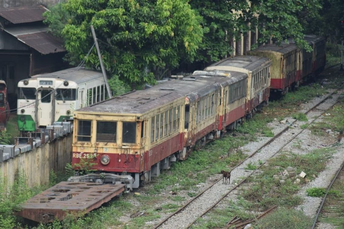 国鉄 ミャンマー
