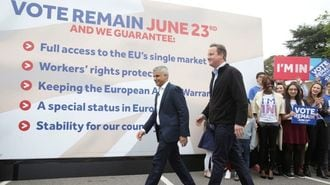 UK Should Lead, Not Leave, Europe