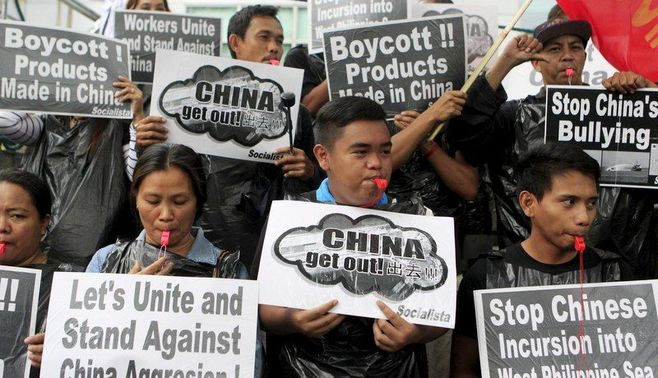 米国は、中国の南シナ海進出を止められない