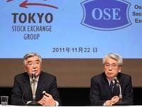 東証と大証が経営統合で正式合意、システム統合ならコスト節減大も、取引活性化の効果は未知数