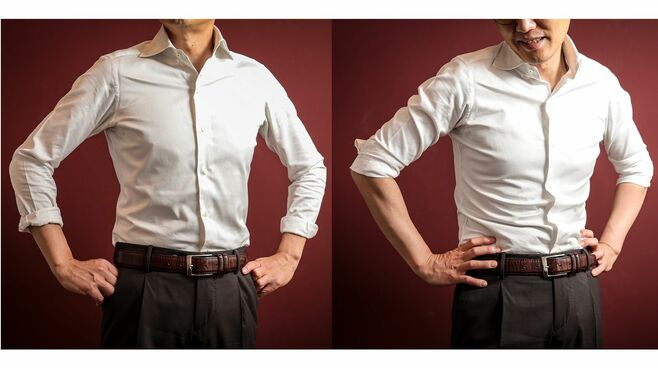 長袖はまだ暑い!格好いいワイシャツのまくり方