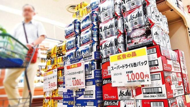 スーパーがビールの駆け込み特需を煽るワケ
