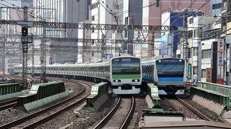 山手線と京浜東北線「並走区間」で速いのは?
