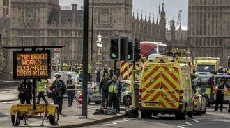ロンドン、「国会議事堂テロ事件」の一部始終