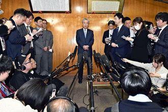 JOC竹田会長、6月任期満了での退任を表明