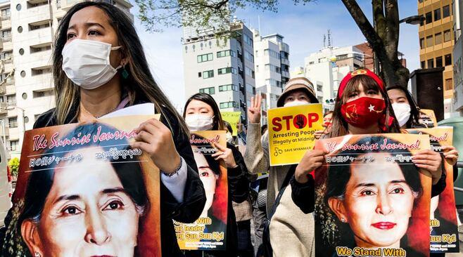 沈黙する「日本ミャンマー協会」が抗議浴びる訳