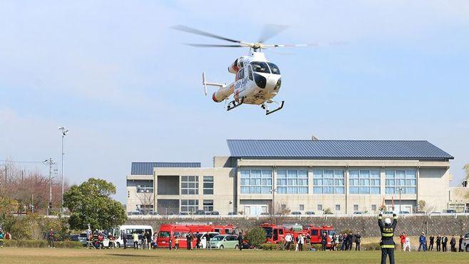 交通事故の救命作業を速める最新技術の実情