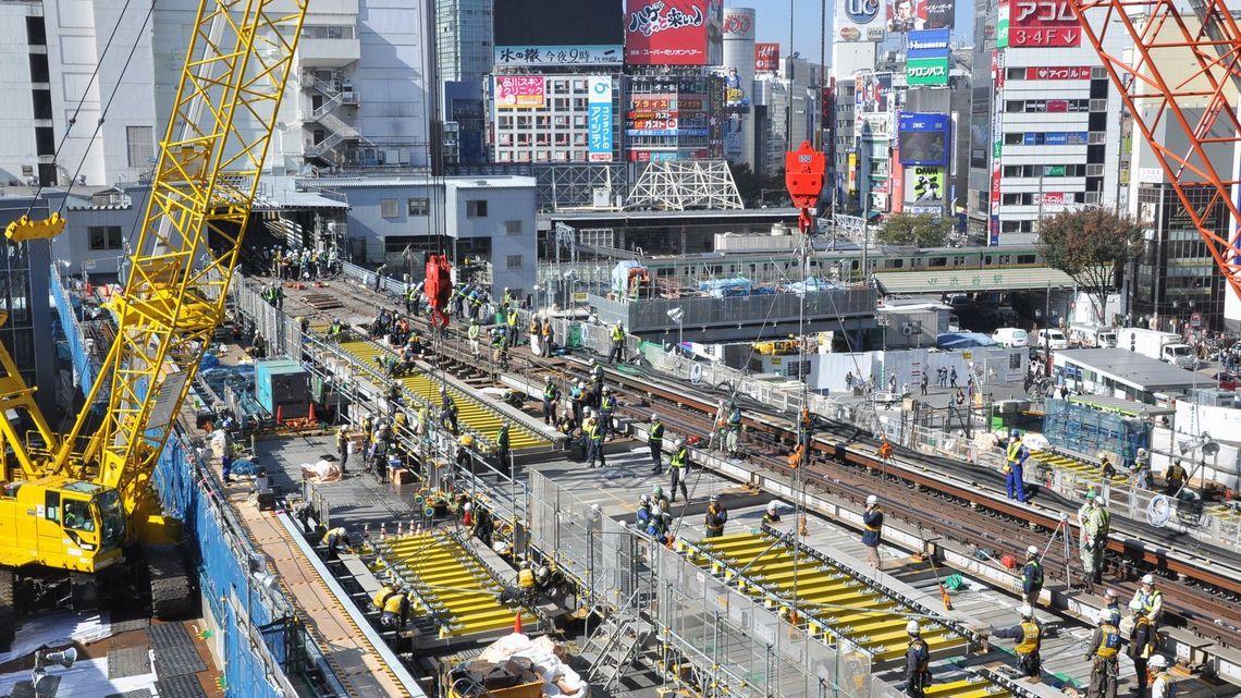 銀座線が丸2日運休、「渋谷駅大工事」の全貌   駅・再開発   東洋経済 ...