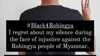 #Black4Rohingyaが映すミャンマー内の大変化