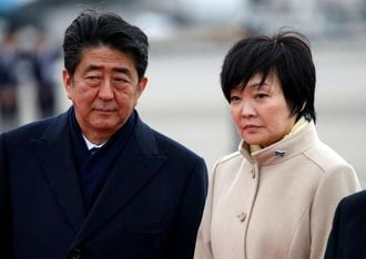 Altered documents turn up heat on Japanese leader