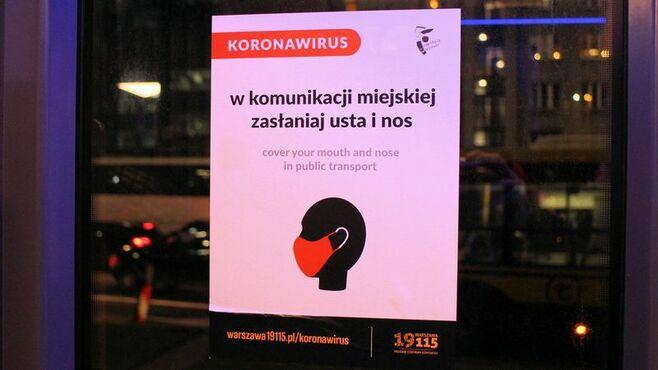 乗車人数を制限、ポーランド「交通コロナ対策」