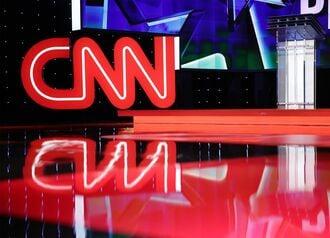 CNNの視聴者数が過去最高、暴動事件巡る報道で