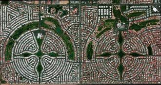 「宇宙から見た都市」の何ともすさまじい絶景