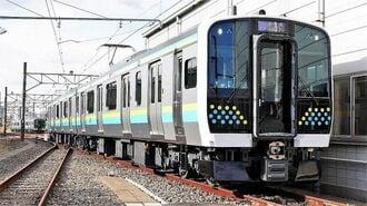JR東の新顔E131系、地域密着「標準車」の将来性