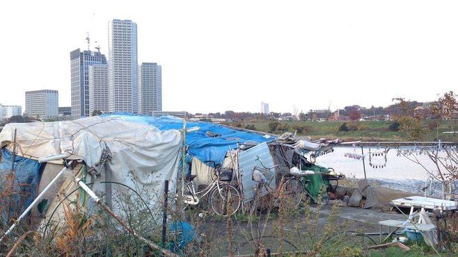 河川敷在住ホームレスを襲う「一般人」の暴力