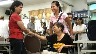 台湾がコロナ禍で介護労働者不足の危機に