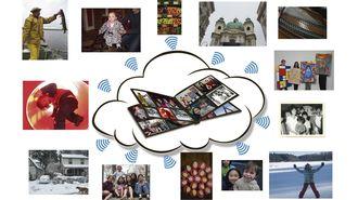 スマホの写真を大人数と共有する簡単な方法