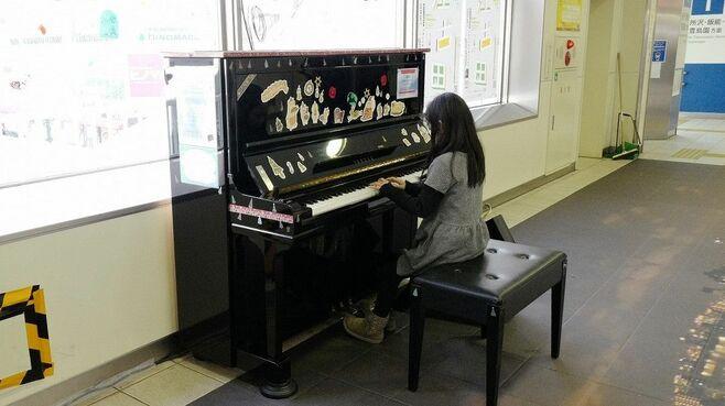 演奏に順番待ち、江古田「駅ピアノ」は誰が弾く?