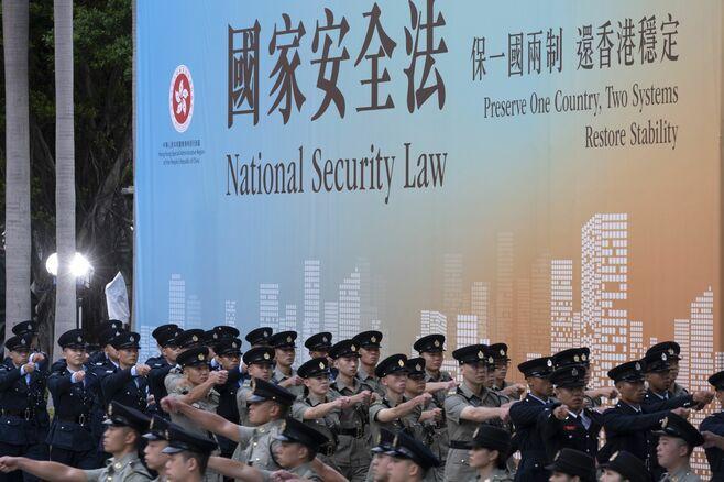 国安法施行1年、レッドライン見えず広がる不安