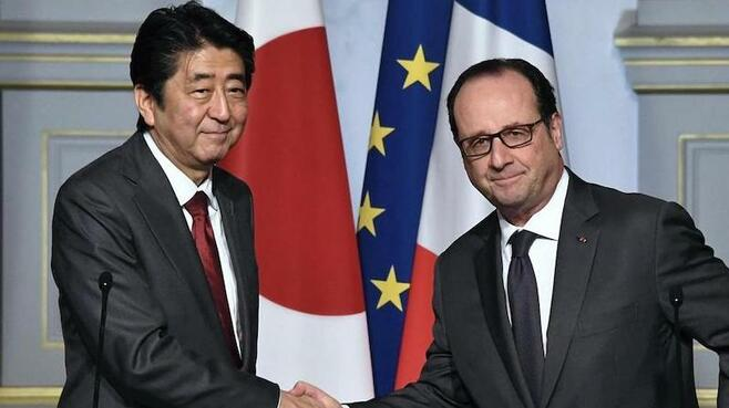 日仏首脳、「原子力分野で協力推進」で一致