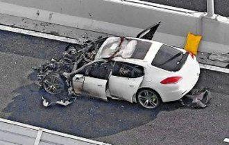 ポルシェ200キロ暴走、危険運転で医師追送検