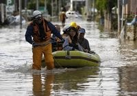 More Japanese Rivers Overflow Bringing Further Floods, 23 Missing
