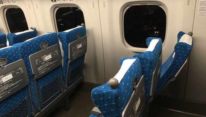 新幹線の「リクライニング」はどこまでOKか